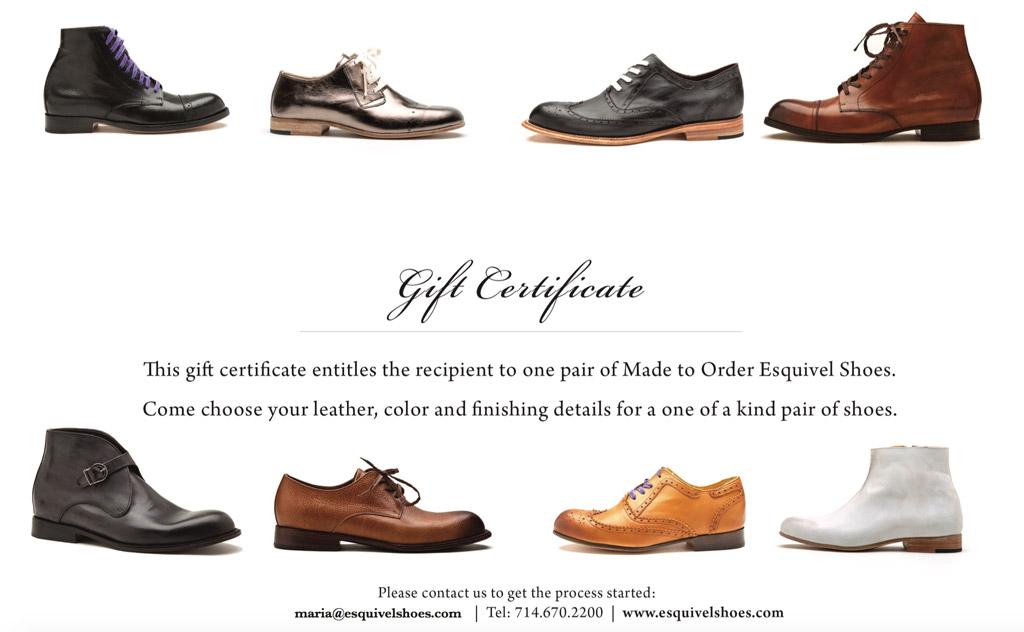 shoe gift ideas for men