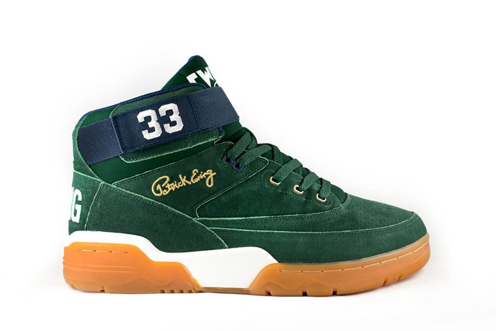 Ewing Athletics 33 Mid Green Navy Gum