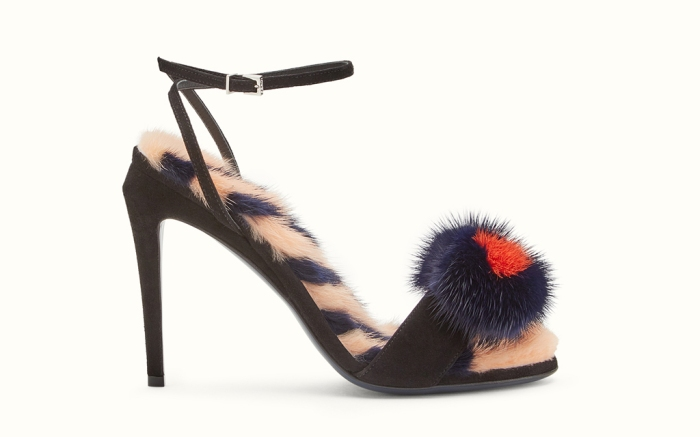 Fendi Fur Sandal