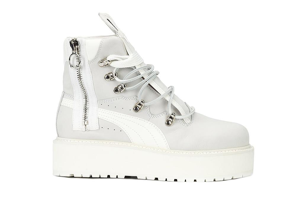 Fenty Puma White Boot