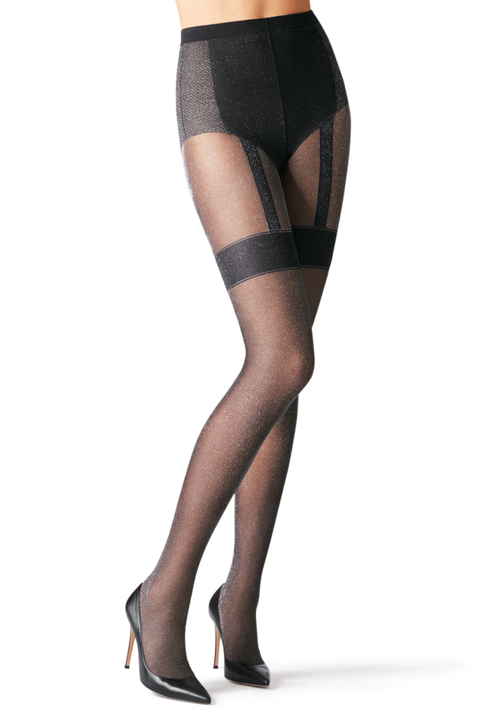 Gala shimmery tights, $49.16, Fogal.com