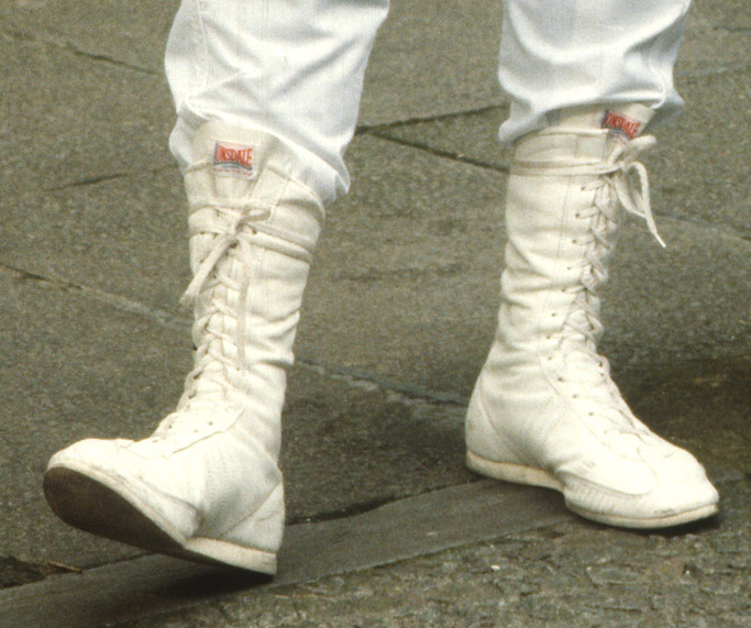 george michael boots