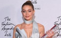 Gigi Hadid British Fashion Awards