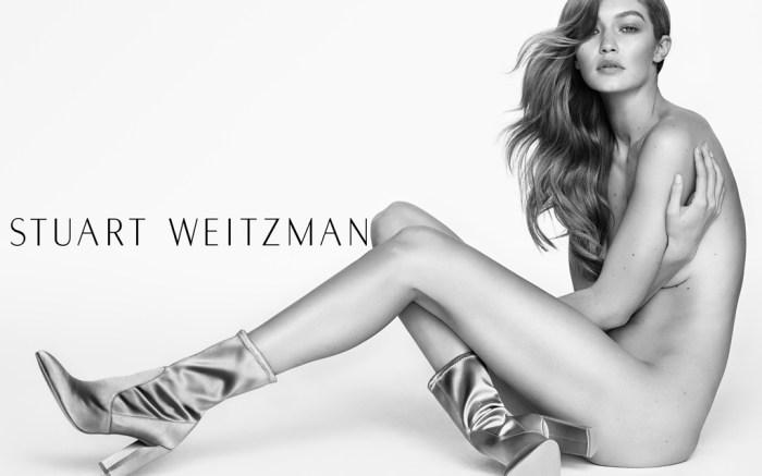 Gigi Hadid Stuart Weitzman Ad Campaign