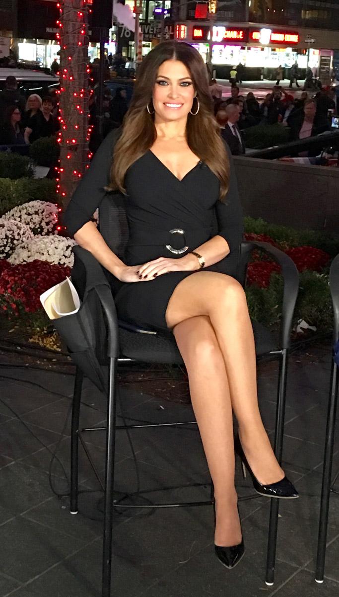 Kimberly Guilfoyle shoes fox news