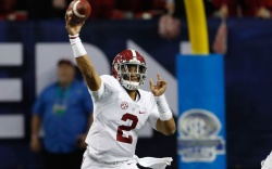 Alabama Crimson Tide quarterback Jalen Hurts
