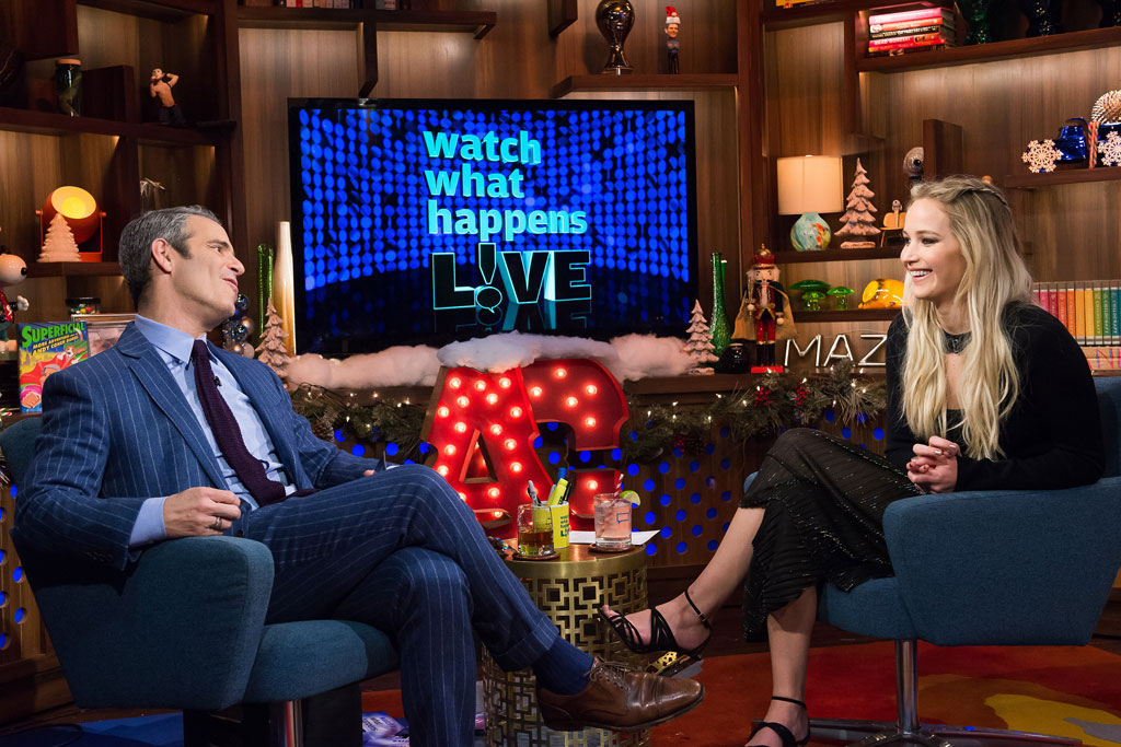 """The actress visited """"Watch What Happens Live."""""""