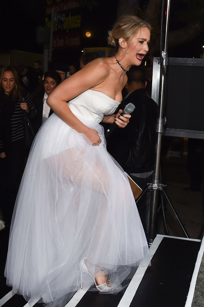 Jennifer Lawrence Passengers Premiere