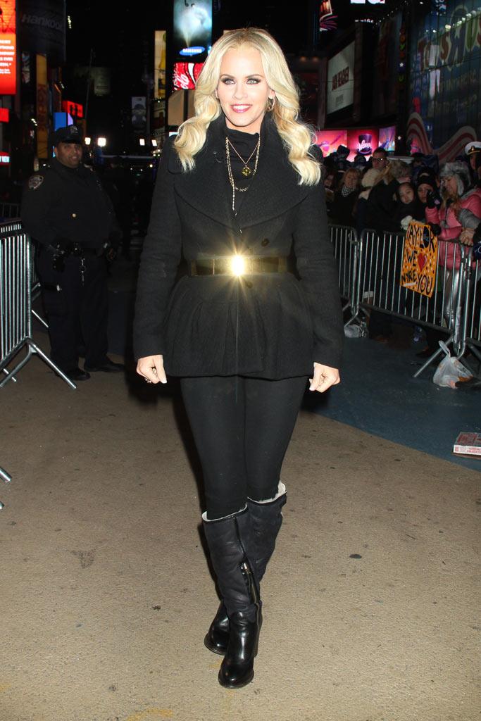 Jenny McCarthy New Year's Eve 2012