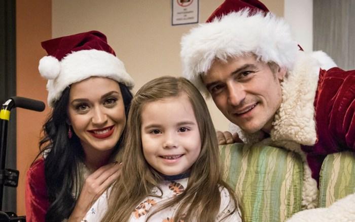 Katy Perry Orlando Bloom Children's Hospital