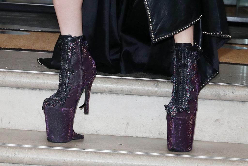 Lady Gaga Platforms London