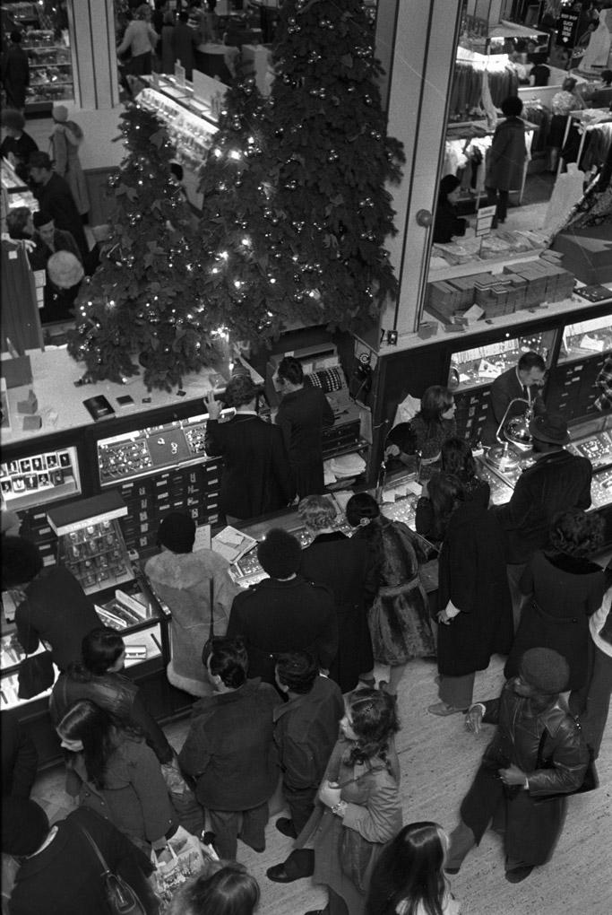 Macy's Christmas Shopping