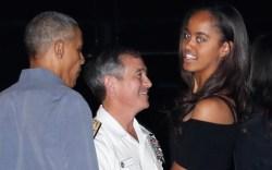 malia obama vacation hawaii