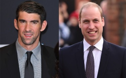 Michael Phelps Prince William