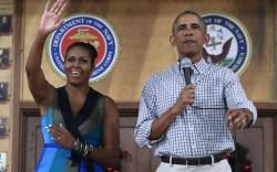 michelle obama christmas hawaii fashion