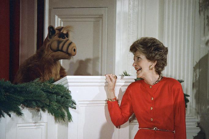 nancy reagan white house christmas