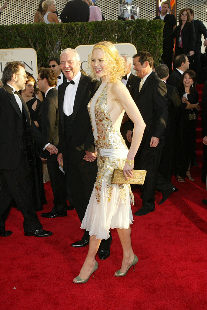 Nicole Kidman Golden Globes Red Carpet Style