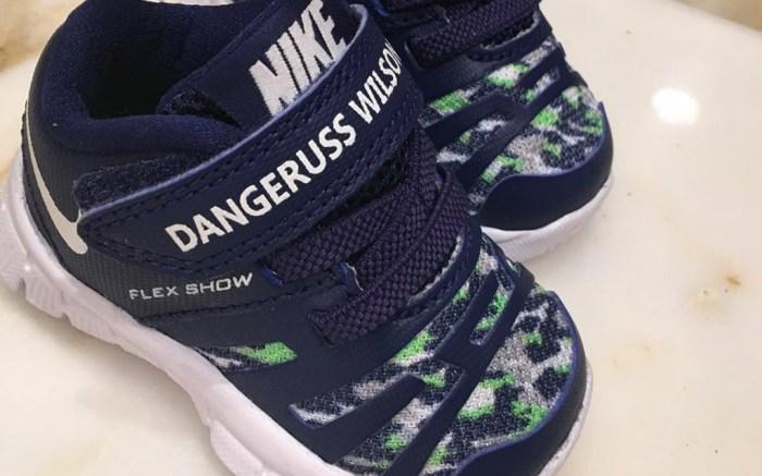Ciara Russell Wilson Baby Nikes