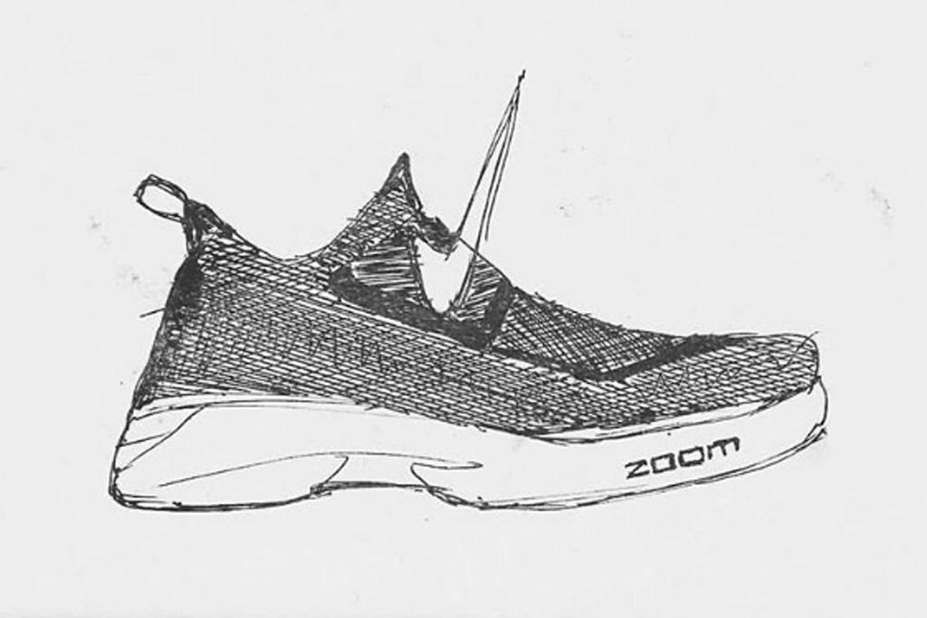Nike LeBron 14 Sketch