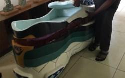 Nike Sneaker Casket in Ghana