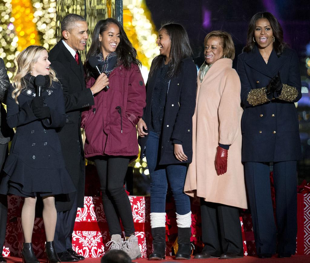 Obama Family White House Christmas