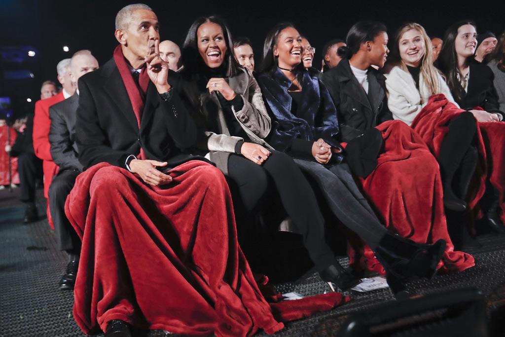 Obamas Christmas Tree Lighting