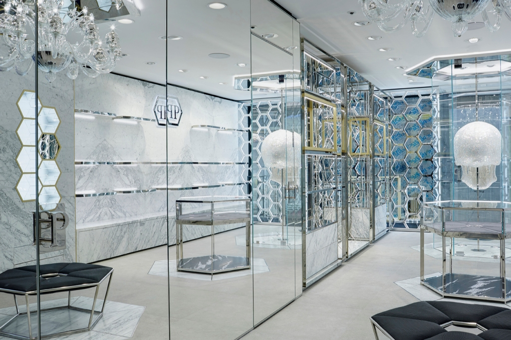 The new Philipp Plein boutique in London