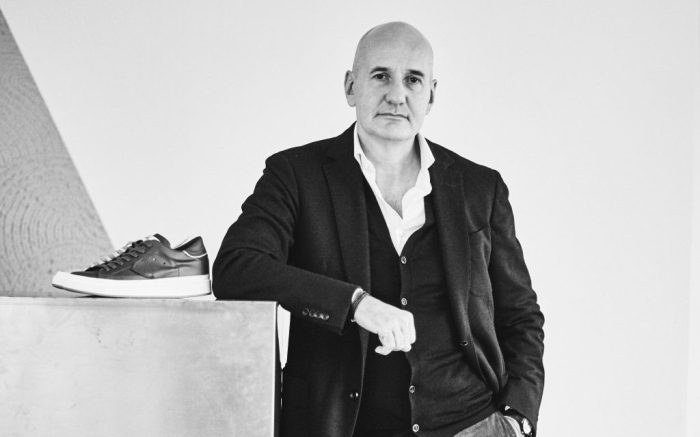 Philippe Model's new CEO Andrea Pesaresi.