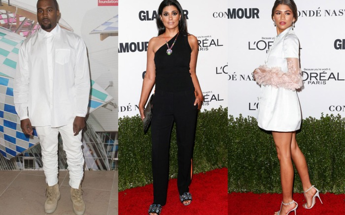Kanye West Rachel Roy Zendaya Most Searched Designers