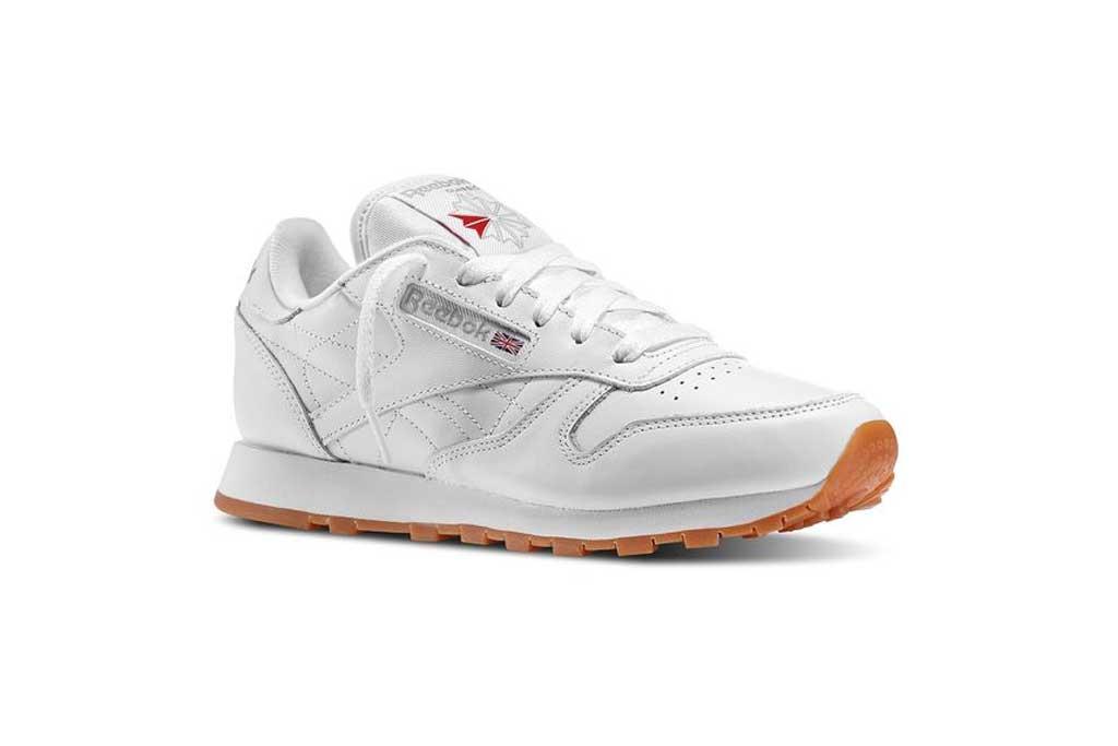 Reebok Classic sneaker.