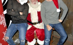 Celebs With Santa Claus