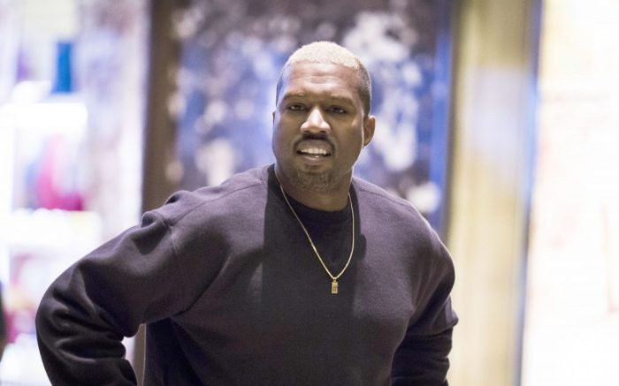 Kanye West at Trump Tower.