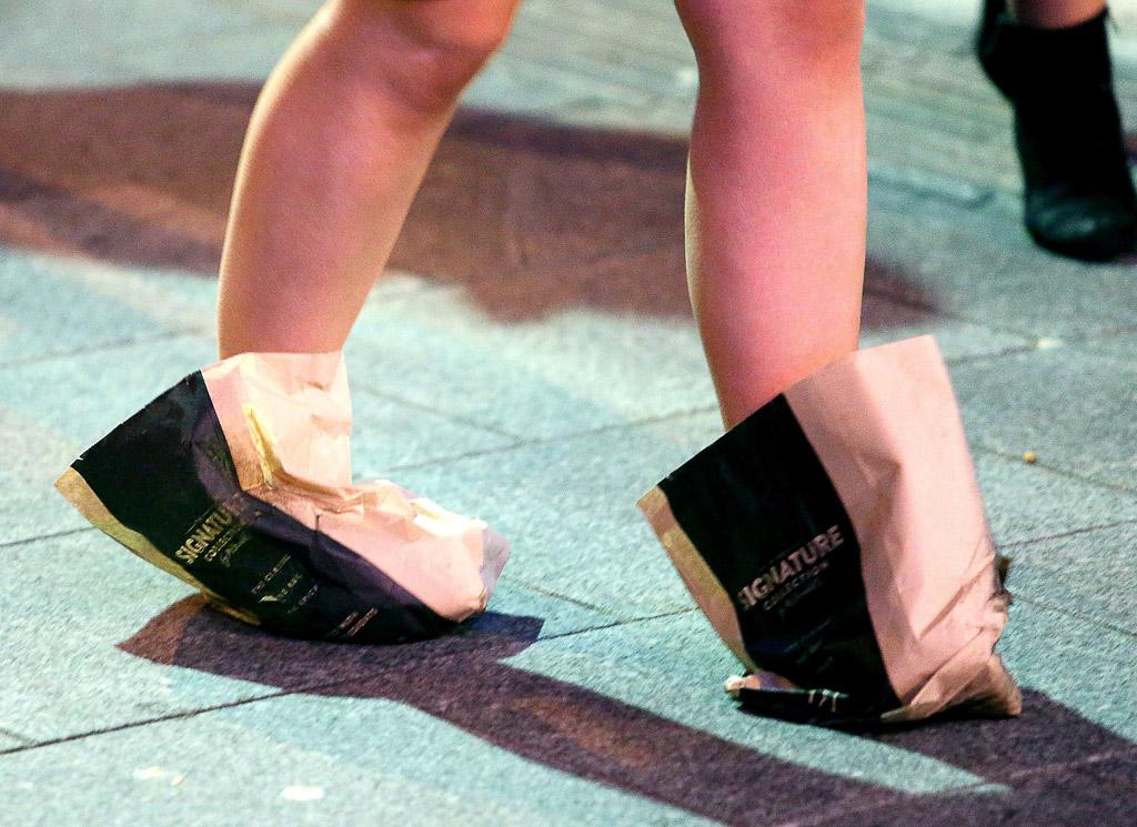 McDonald's Paper Bag Shoes