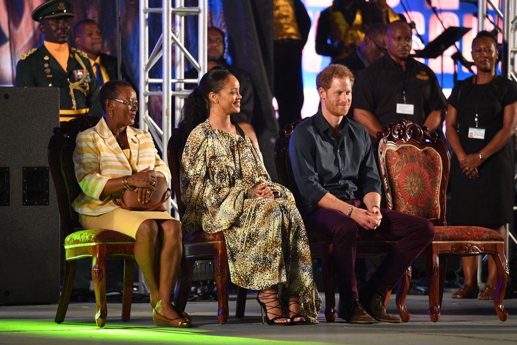 Rihanna Prince Harry Barbados