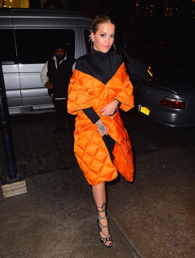 Rita Ora Shoe Style