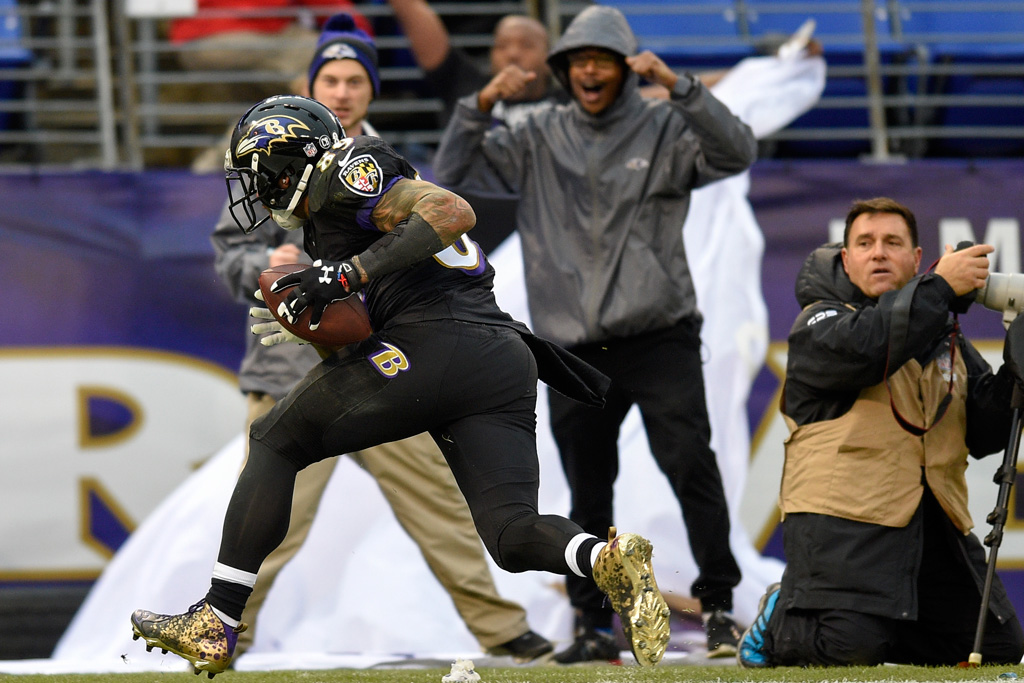 Steve Smith Baltimore Ravens Under Armour
