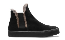Fur-Lined Shoes