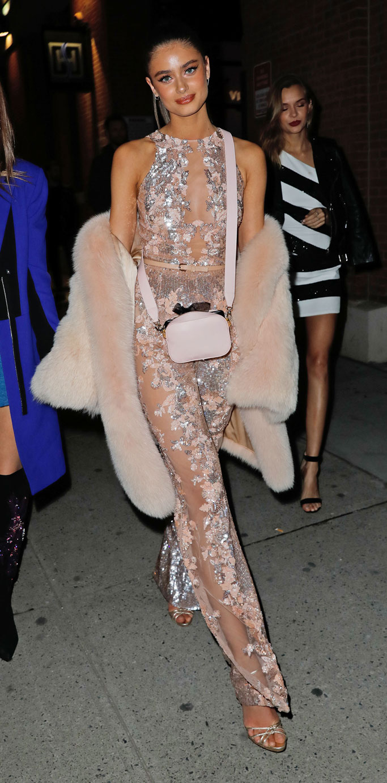 Victoria's Secret Fashion Show Models Viewing Party
