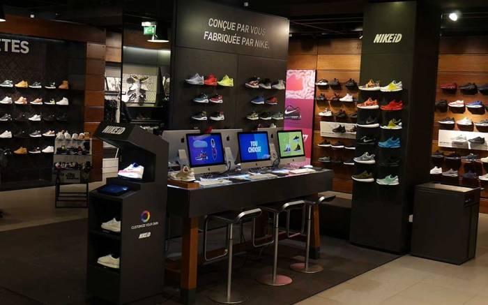 SmartPixels at Nike Paris.
