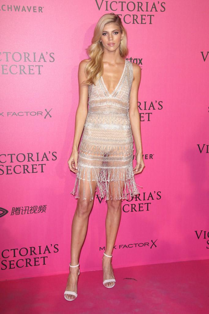 Devon Windsor Victoria's Secret Fashion Show After-Party