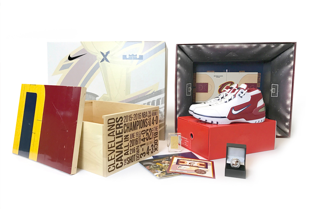 StockX Cavs Court SPO Package