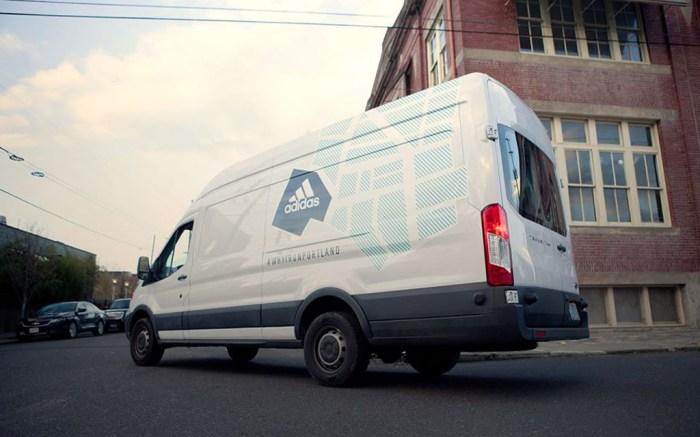 Adidas #WhyIRunPortland Van