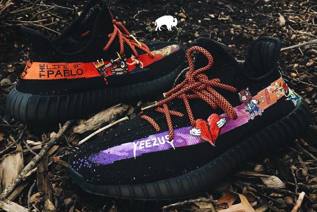 yeezy album sneakers