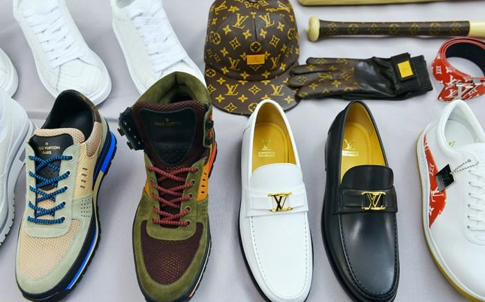 official LV Supreme shoes