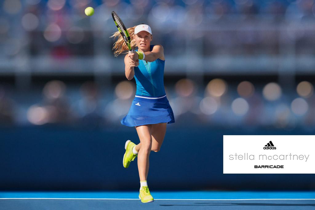 Caroline Wozniacki adidas stella mccartney
