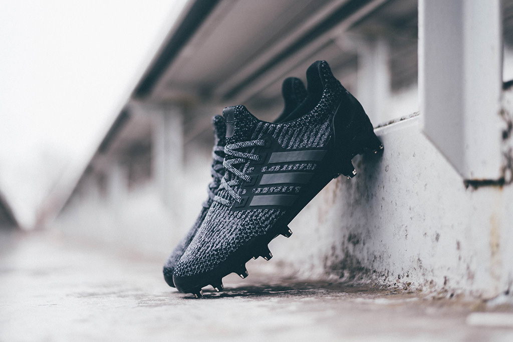 Adidas Ultra Boost football cleat Triple Black