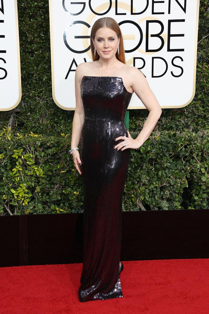 Amy Adams 2017 Golden Globes