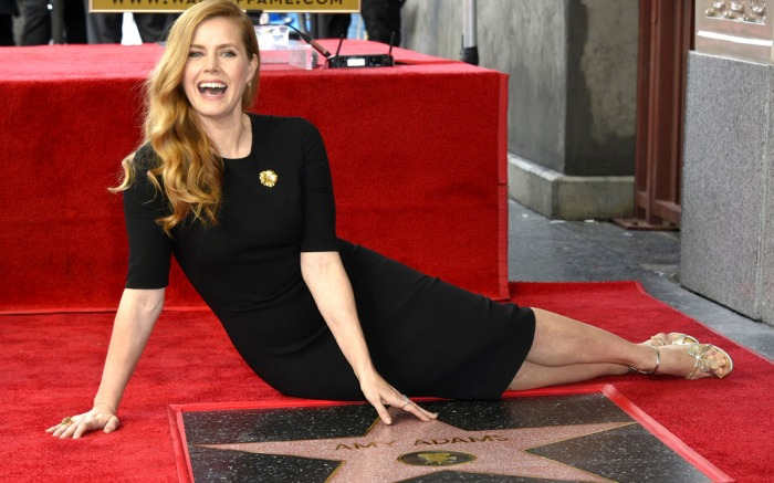 Amy Adams Walk of Fame Star