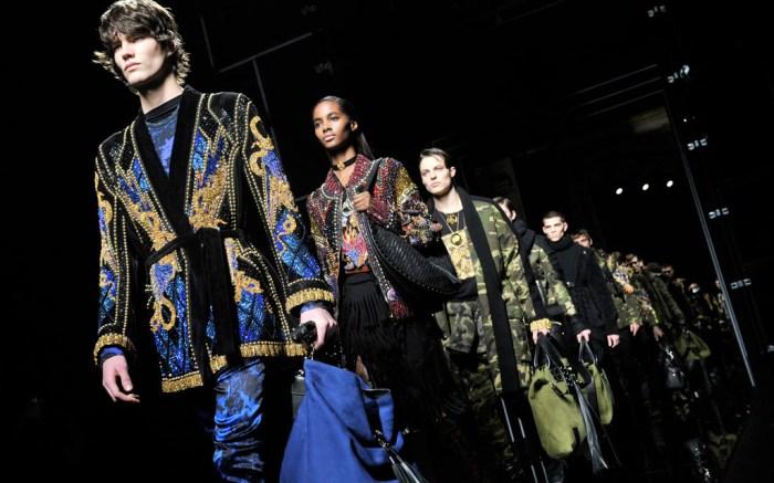 Balmain Fall 2017 Paris Fashion Week Collection