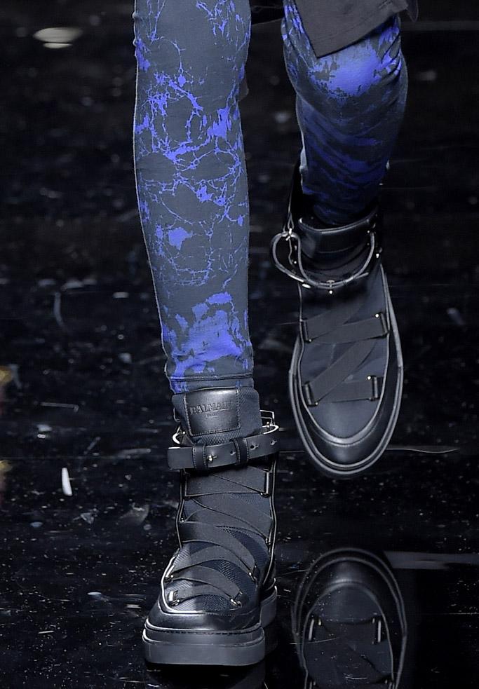 Balmain fall 2017 collection shoes